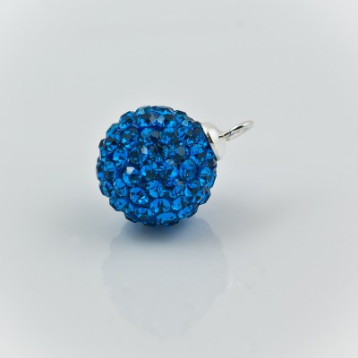Discoball 8mm Capri Blue
