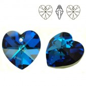 Swarovski 6228 Serce Heart 18mm Vitrail Medium
