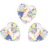Swarovski 6228 Serce Heart 14mm White Opal