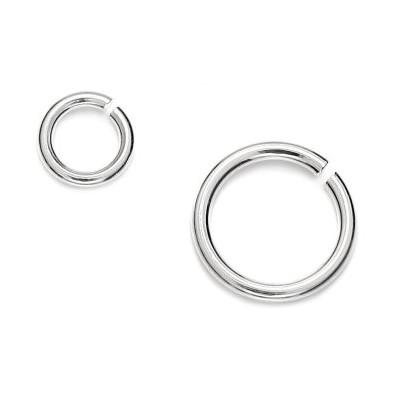 Jump rings 0,80 x 6,70mm - 3pcs
