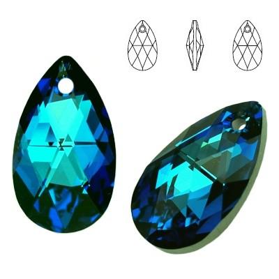 6106 Pear-shaped 22mm Bermuda Blue