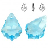 6090 Baroque 16mm Aquamarine AB