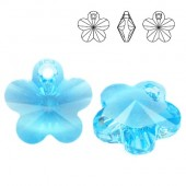 Swarovski 6744 Flower 18mm Crystal AB